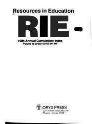 Resources in Education Annual Cumulation PDF