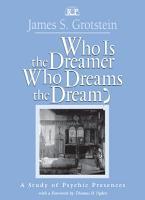 Who Is the Dreamer  Who Dreams the Dream  PDF
