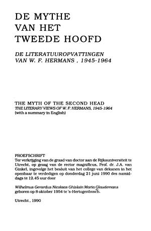 De mythe van het tweede hoofd