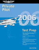 Private Pilot Test Prep 2006 PDF