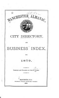 Manchester Almanac  City Directory  and Business Index PDF