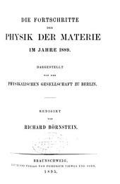 Die Fortschritte der Physik: Band 45