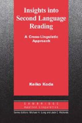 Insights Into Second Language Reading PDF