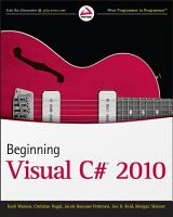 Beginning Visual C  2010 PDF