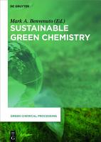 Sustainable Green Chemistry PDF