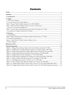 Timber Supply and Demand 2000  Report Number 20  R 10 MB 521  April 2004