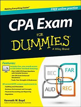 CPA Exam For Dummies PDF