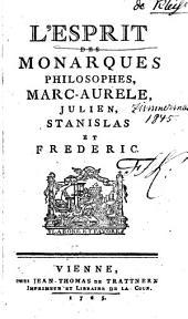 L'esprit des monarques philosophes