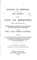 History of Memphis PDF