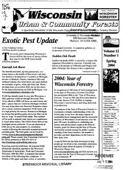 Wisconsin Urban   Community Forests PDF