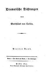 Dramatische Dichtungen: Butes. Der Streit am Grabe [u.a.]