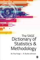 The SAGE Dictionary of Statistics   Methodology PDF
