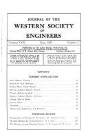 Download Journal of the Western Society of Engineers Book