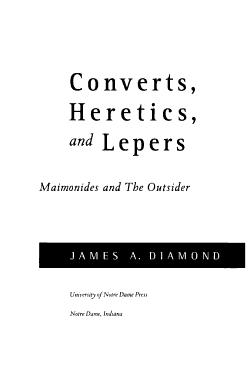 Converts  Heretics  and Lepers PDF