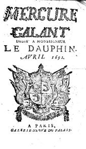 Le mercure galant: 1692, 4