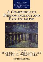 A Companion to Phenomenology and Existentialism PDF