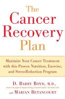 The Cancer Recovery Plan PDF