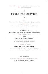 A Fable for Critics