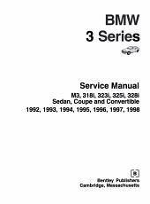 Bentley BMW 3 Series Service Manual 1992 1998 PDF
