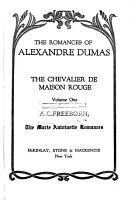 The Chevalier de Maison Rouge PDF