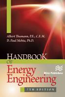 Handbook of Energy Engineering  Seventh Edition PDF