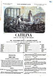 Catilina drame en cinq actes et sept tableaux par Alexandre Dumas et Auguste Maquet