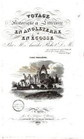 Voyage historique et littéraire en Angelterre et en Ecosse: Volume3