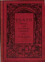 plato moral and political ideals PDF