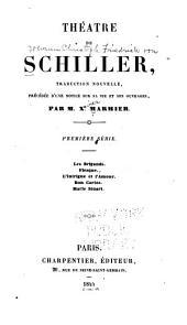 Théatre de Schiller: Volume1