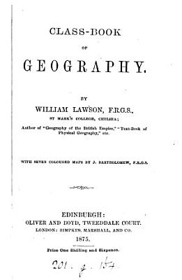 Class book of geography PDF