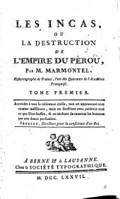 Les Incas; ou La destruction de l'empire du Pérou: Volume 2
