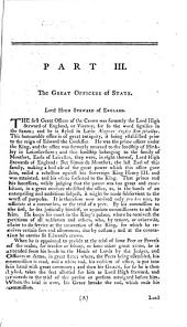 A Political Index to the Histories of Great Britain and Ireland; or, a complete register of the hereditary honours, public offices and persons in office, from the earliest periods to the present time
