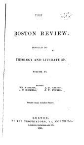 The Boston Review: Volume 6