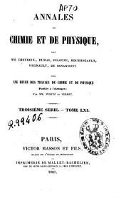 Annales de chimie et de physique: Volume61