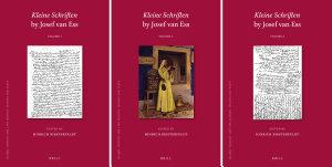 Kleine Schriften  Collected Short Writings of Josef van Ess  3 vols  PDF