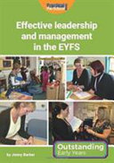 Effective Leadership and Management in the EYFS PDF