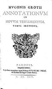 Annotationes in Novum Testamentum: Volume 2