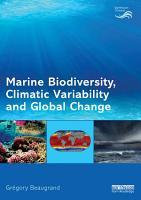 Marine Biodiversity  Climatic Variability and Global Change PDF