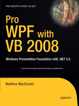 Pro WPF with VB 2008
