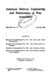 Bulletin - American Railway Engineering Association: Issues 71-82