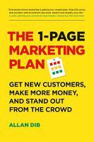 The 1 Page Marketing Plan PDF