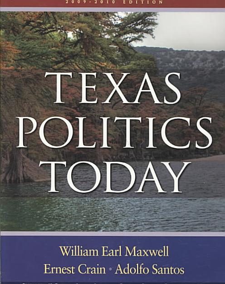 Texas Politics Today 2009-2010