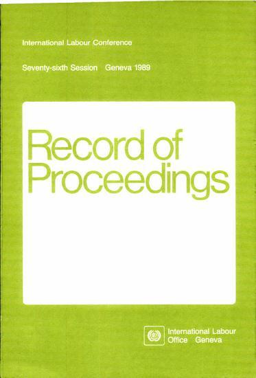 Ilc 76   Record of Proceedings PDF