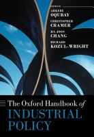 The Oxford Handbook of Industrial Policy PDF