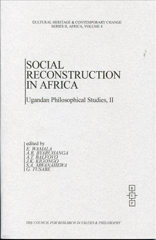 Social Reconstruction in Africa