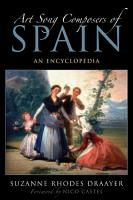 Art Song Composers of Spain PDF