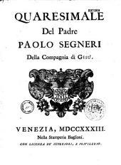 Opere del padre Paolo Segneri della Compagnia di Gesu