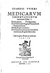 Medicarum observationum rararum liber 1