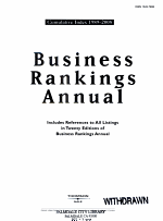 Business rankings annual