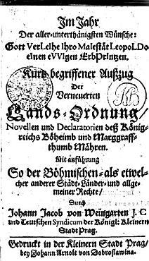 Compendium Iuris Provincialis Regni Boemiae PDF